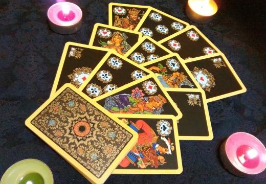 расклад игральных карт
