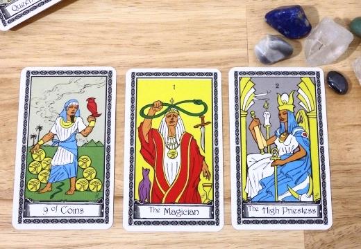 три карты таро