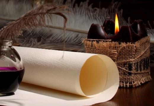 свиток свеча