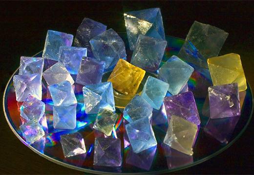 разные флюориты