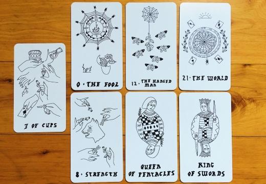 расклад семь карт таро