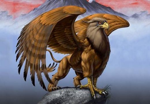 птица грифон