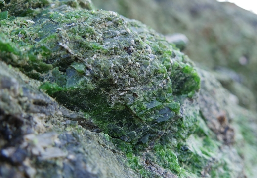 хромдиопсид в природе