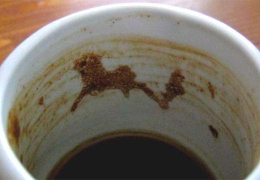 силуэт коня в чашке