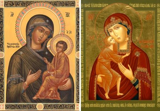 Тихвинская и Феодоровская Божьи Матери