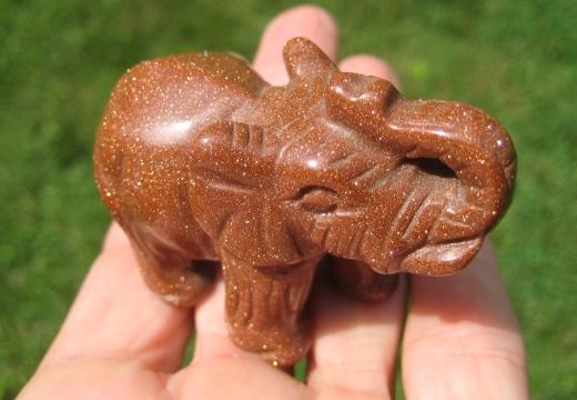 статуэтка слон из яшмы