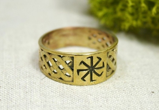 кольцо-оберег колядник