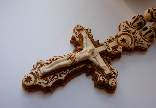 ажурный крестик