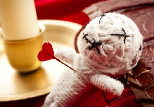 кукла вуду на любовь