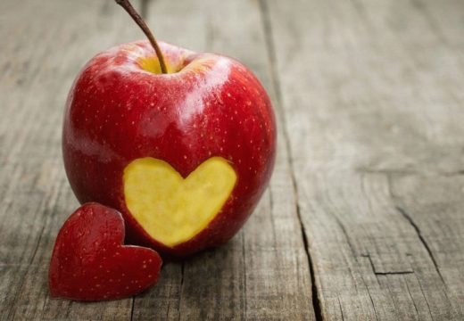 яблоко и сердце