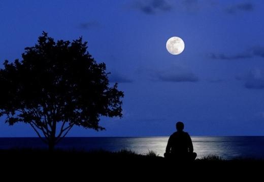 медитировать ночью