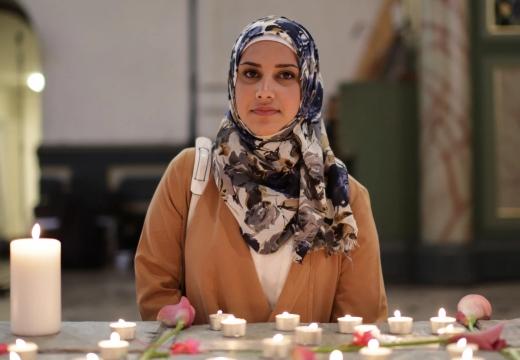 мусульманка свечи