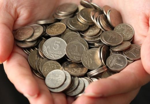 монеты в ладонях