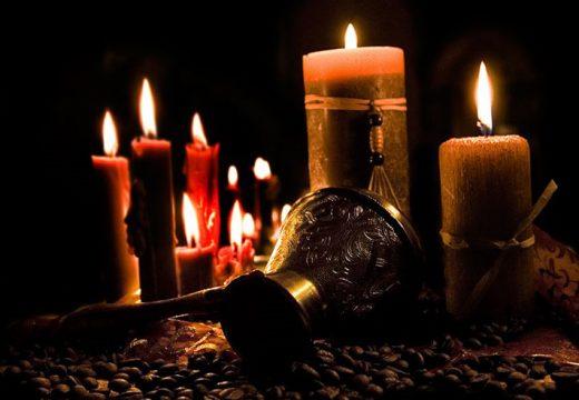мистические свечи