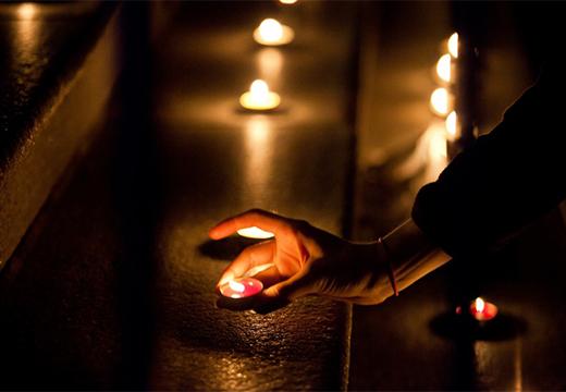 обряд со свечами
