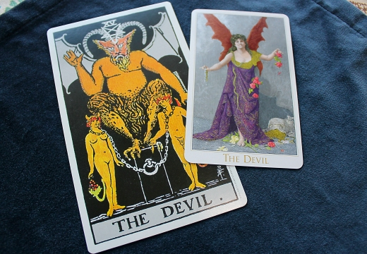 две карты жьявол