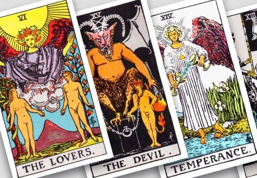 таро любовники дьявол умеренность