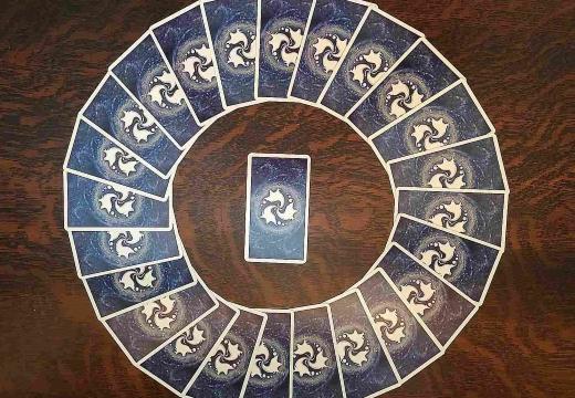круг карт таро