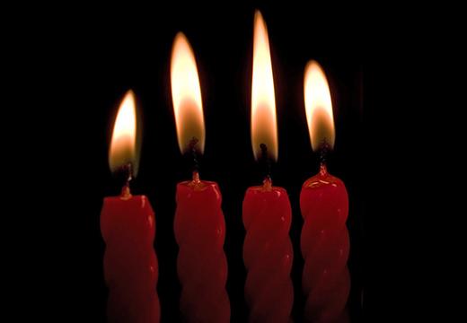 Четыре свечи для ритуала