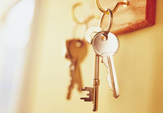 ключи на крючке