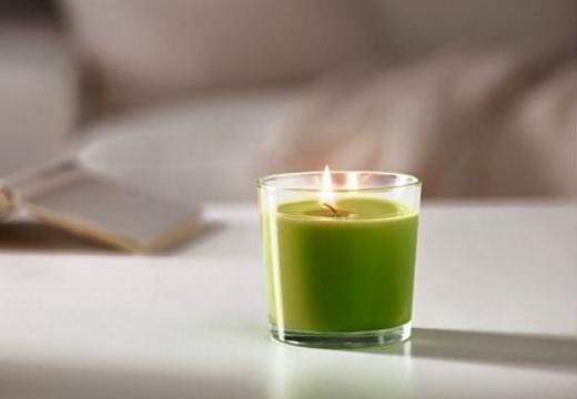 зеленая свечка