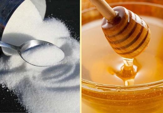 сахар мёд