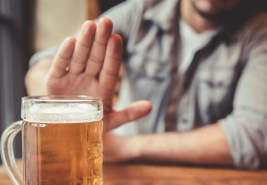 отказываться от пива
