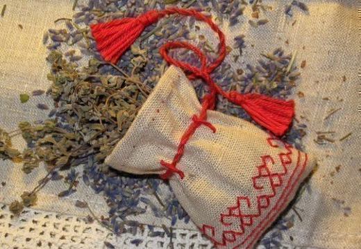 мешочек оберег с травами