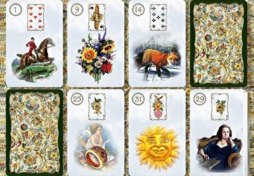 карты таро ленорман