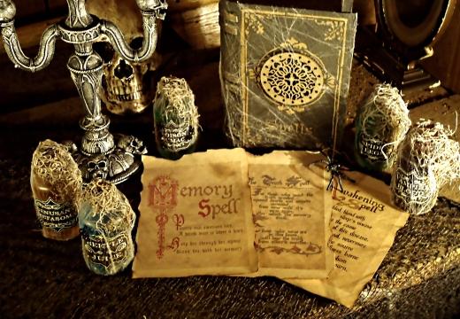 магические заклинания книга